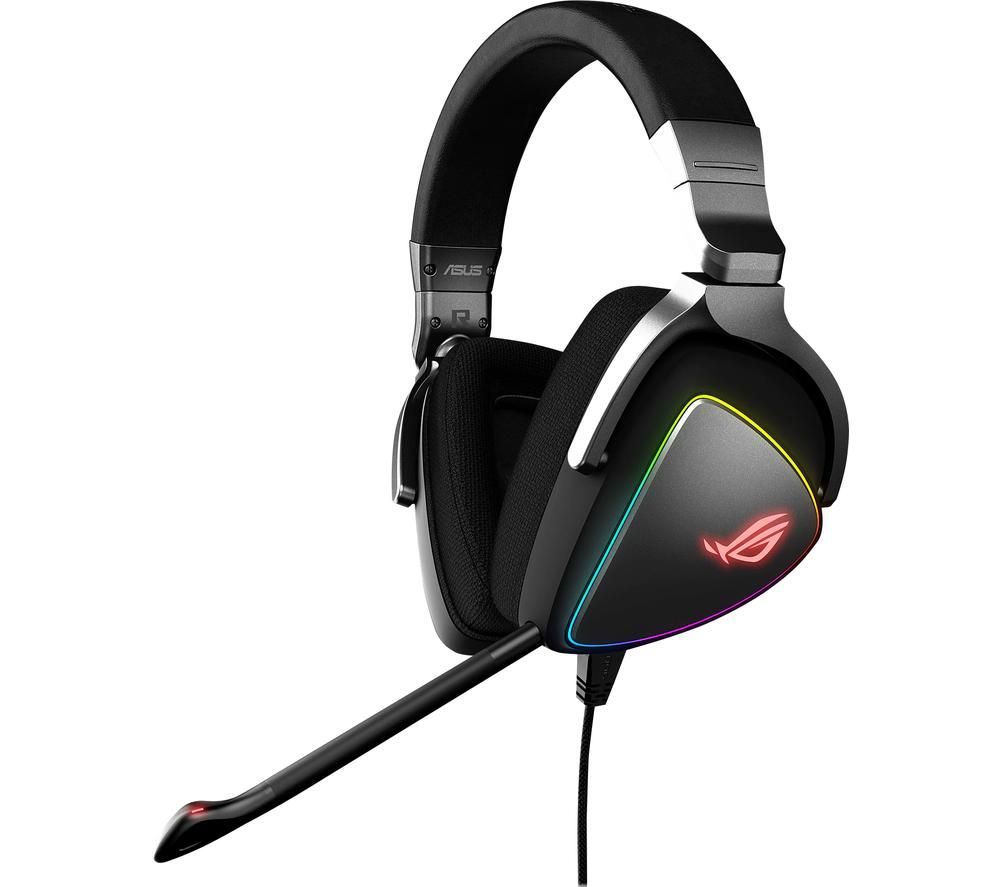 ASUS ROG Delta Gaming Headset - Black & Silver