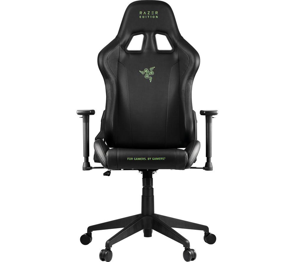 RAZER Tarok Essentials Gaming Chair - Black, Black