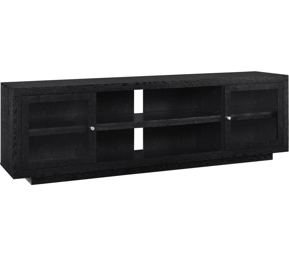 Image of DOREL HOME 1780096COMUK Bailey 1820 mm TV Stand - Black, Black