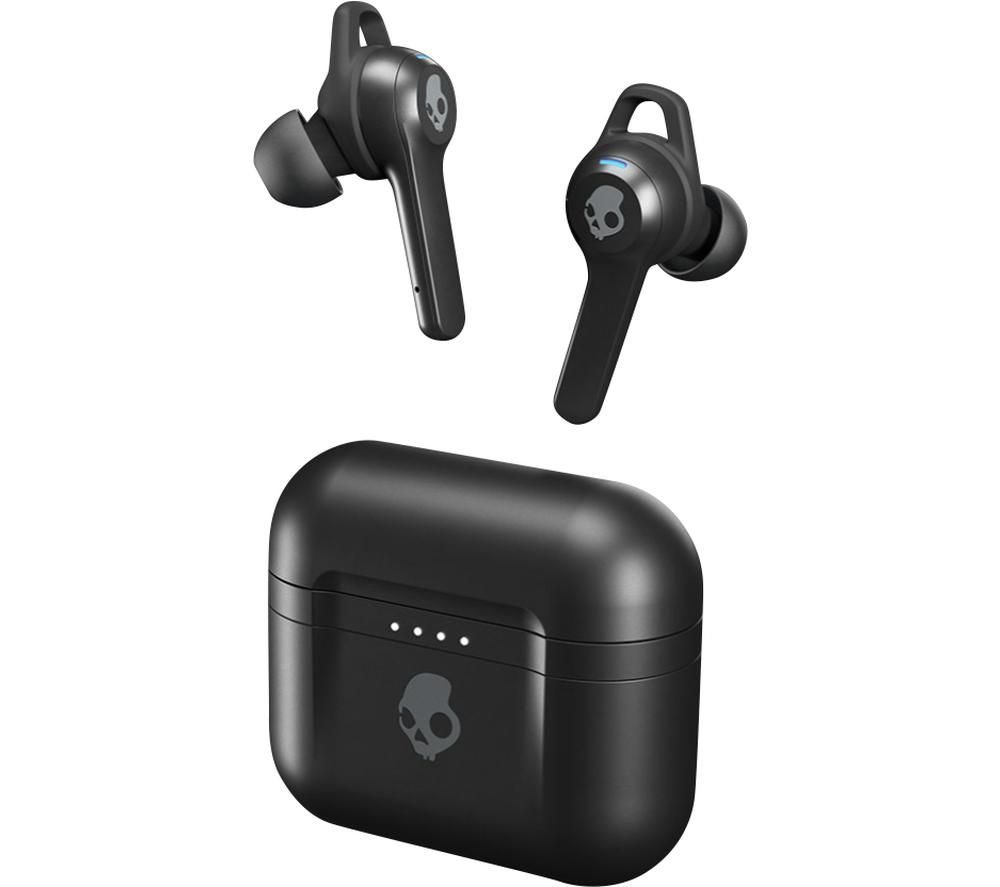 SKULLCANDY Indy Fuel Wireless Bluetooth Earphones - True Black