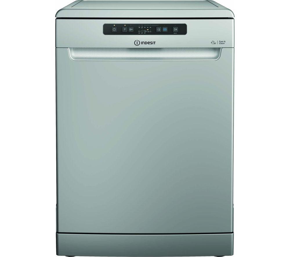INDESIT DFC 2B+16 S UK Full-size Dishwasher - Silver