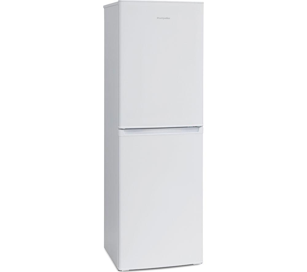 MONTPELLIER MS175W 50/50 Fridge Freezer - White, White