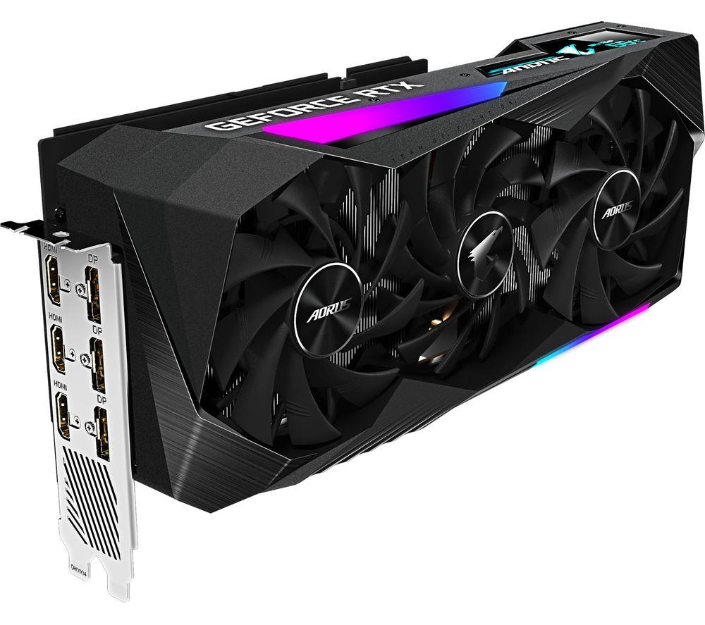 GIGABYTE GeForce RTX 3070 8 GB AORUS MASTER Graphics Card