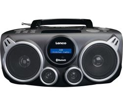 SCD-685 DAB+/FM Bluetooth Boombox - Black