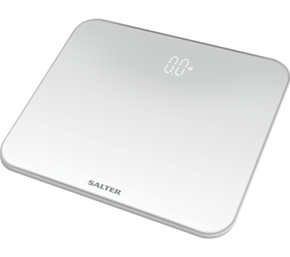 SALTER Ghost 9204 WH3R Bathroom Scales - White, White