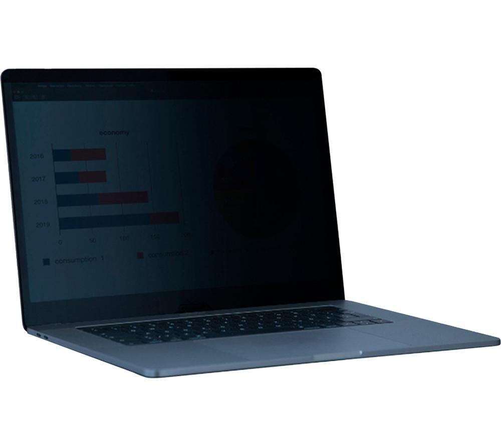 "KAPSOLO KAP200106 Privacy Filter 17"" Laptop Screen Protector, Black"
