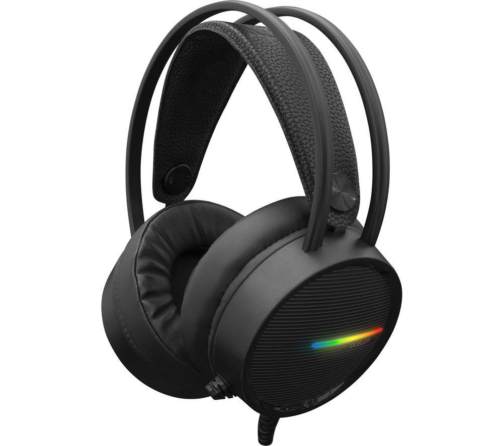 WHITE SHARK GH-2042 OCELOT Gaming Headset - Black, White