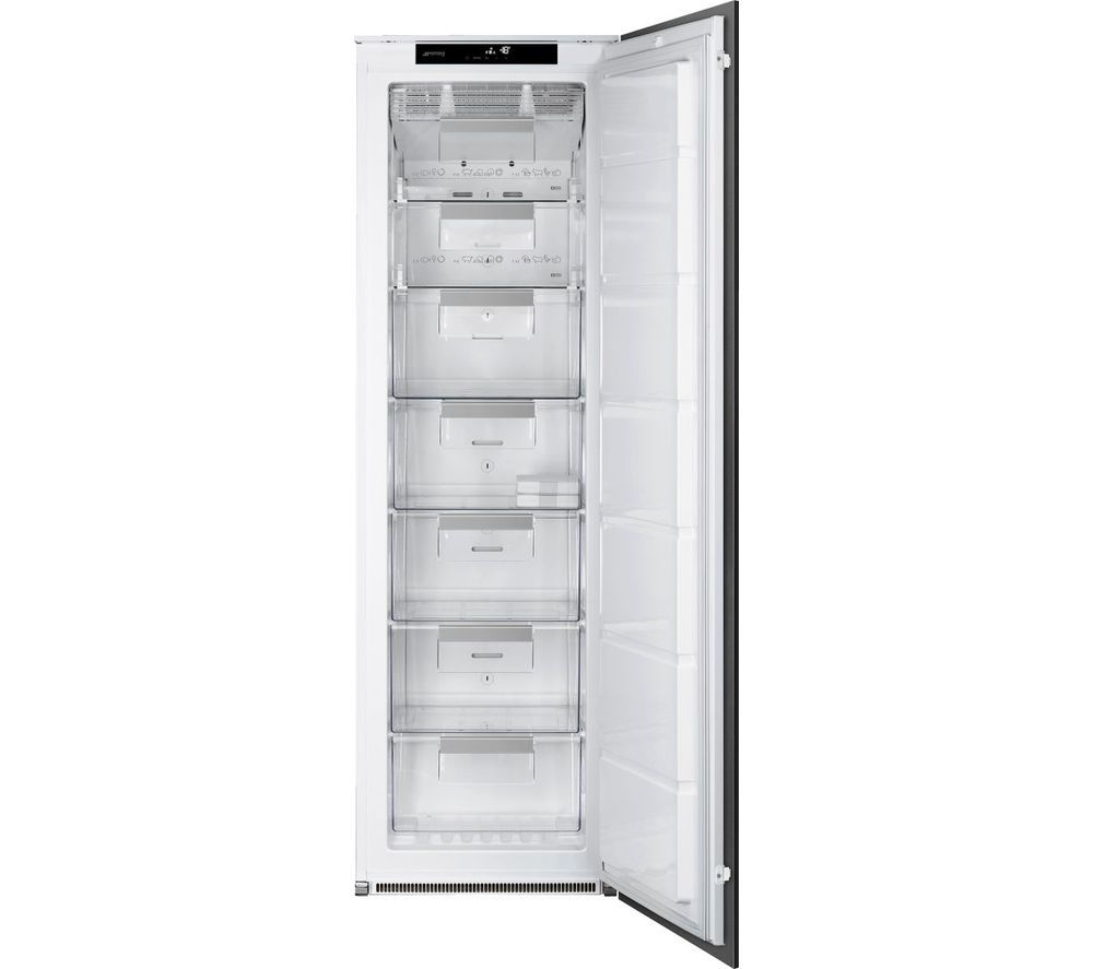 SMEG UKS8F174NF Integrated Tall Freezer - Sliding Hinge