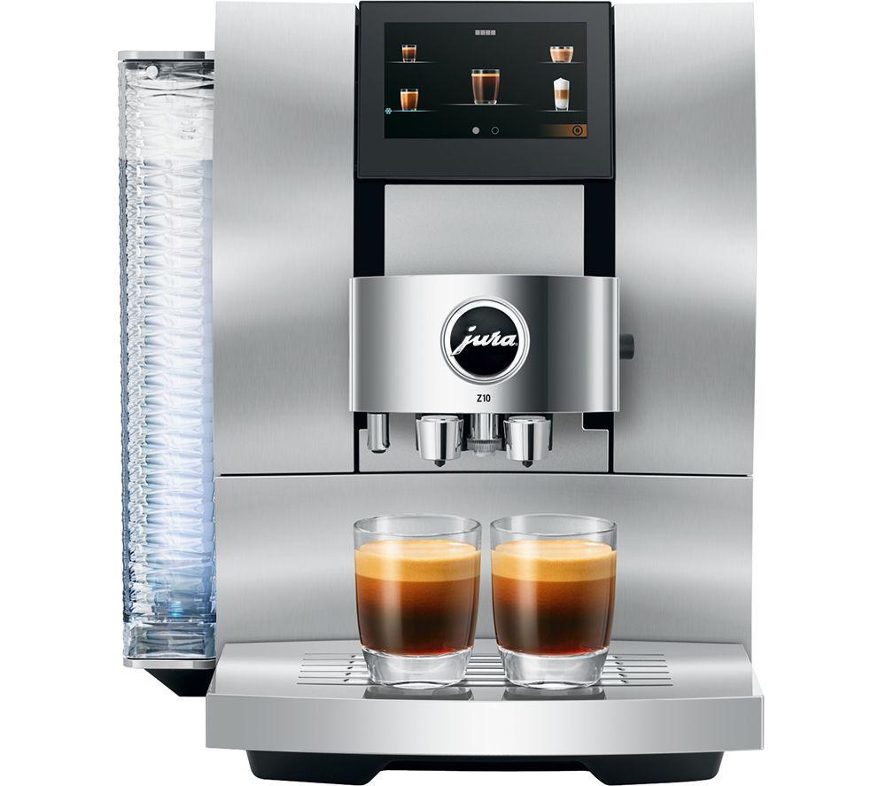 JURA Z10 15360 Smart Bean to Cup Coffee Machine - Chrome