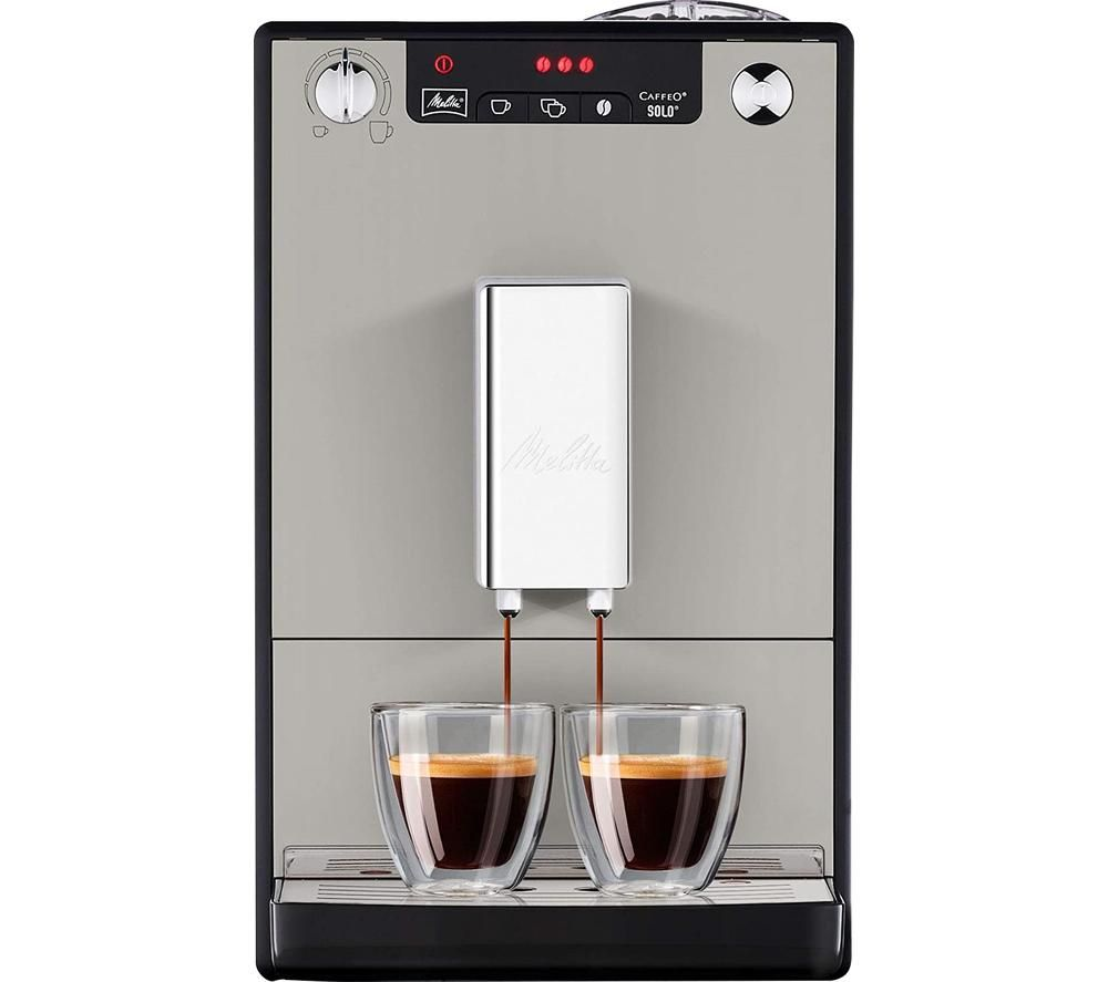 MELITTA Caffeo Solo E950-877 Bean to Cup Coffee Machine - Sandy Grey