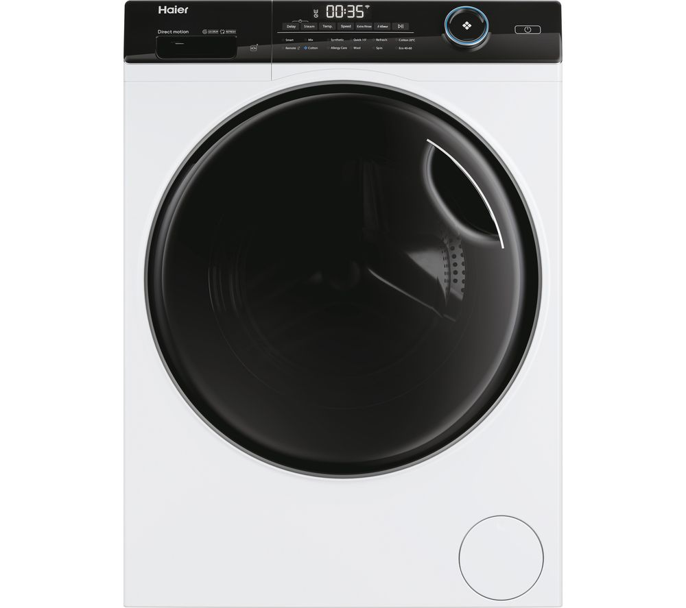 HAIER I-Pro Series 5 HW100-B14959U1 WiFi-enabled 10 kg 1400 rpm Washing Machine - White, White