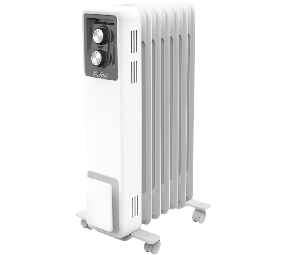 DIMPLEX OCR15 Portable Oil-Filled Radiator - White