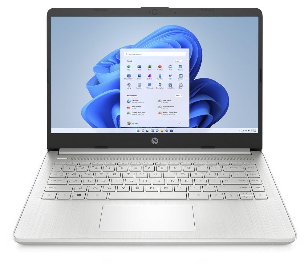 "HP 14s-fq0000na 14"" Laptop - AMD Ryzen 5, 256 GB, Silver"