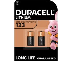 DURACELL DL123A/CR123A/EL123A Ultra Photo 123A Lithium Camera Batteries
