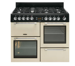 Cookmaster CK110F232C Dual Fuel Range Cooker - Cream