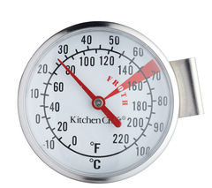 KITCHEN CRAFT Milk Frothing Thermometer - Stainless Steel