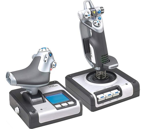 Image of SAITEK X52 Flight Controller Joystick