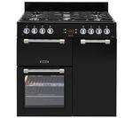 LEISURE Cookmaster 90 Gas Range Cooker - Black