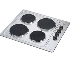 CSPHOBX15 Electric Solid Plate Hob - Stainless Steel