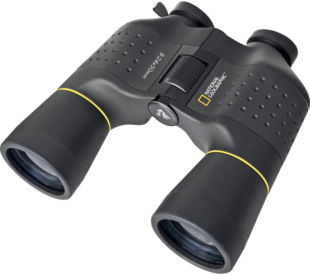 NAT. GEOGRAPHIC 90-64000 Zoom 8-24 x 50 mm Porro Prism Binoculars