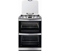 AEG 17166GT-MN 60 cm Gas Cooker - Stainless Steel