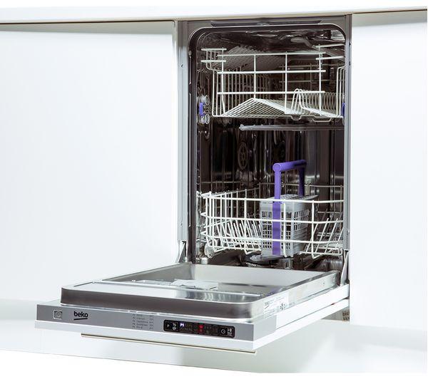 Buy Beko Dis15010 Slimline Integrated Dishwasher Free