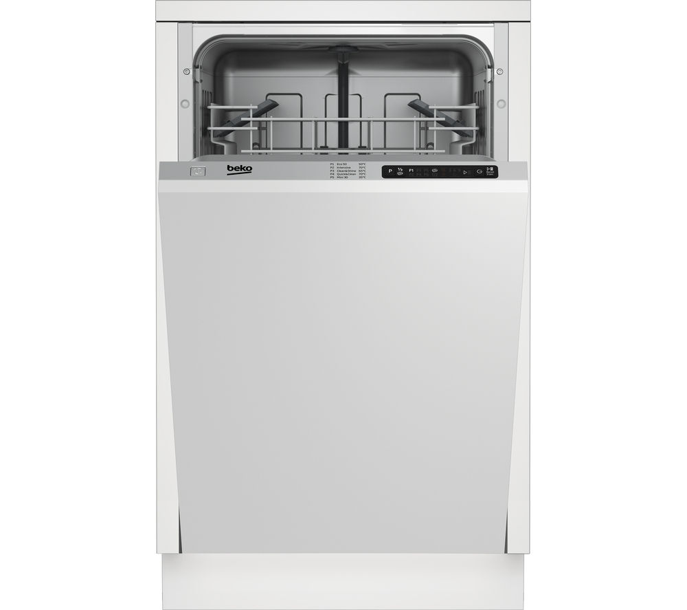BEKO DIS15010 Slimline Integrated Dishwasher