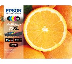 No. 33 Oranges XL 5-Colour Ink Cartridges - Multipack