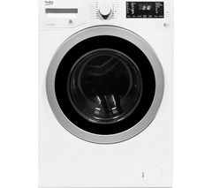 BEKO Pro WDX8543130W Washer Dryer - White