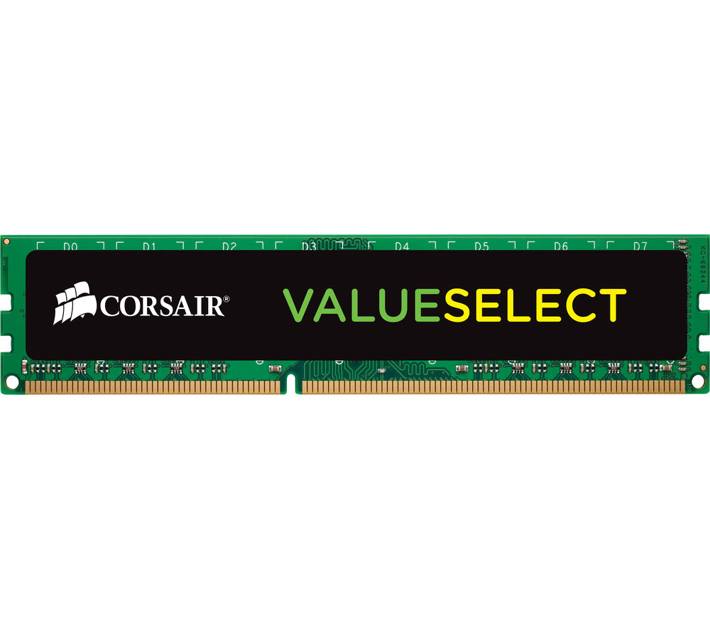 CORSAIR DDR3 1600 MHz PC RAM - 4 GB