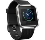 FITBIT Blaze - Black, Large
