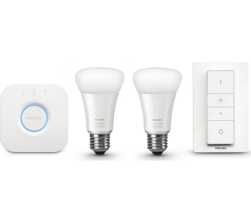PHILIPS Hue White Ambience Starter Kit + Smart Home Start Kit Installation