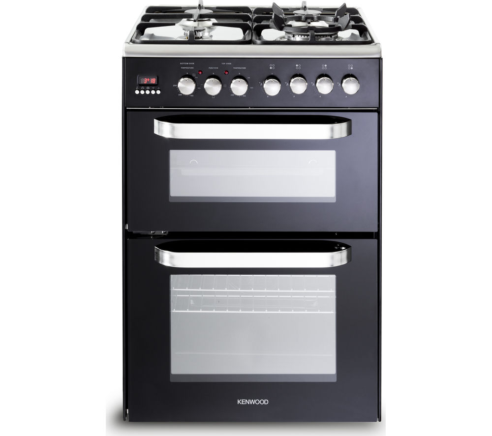 KENWOOD CK232DFA Dual Fuel Cooker - Black