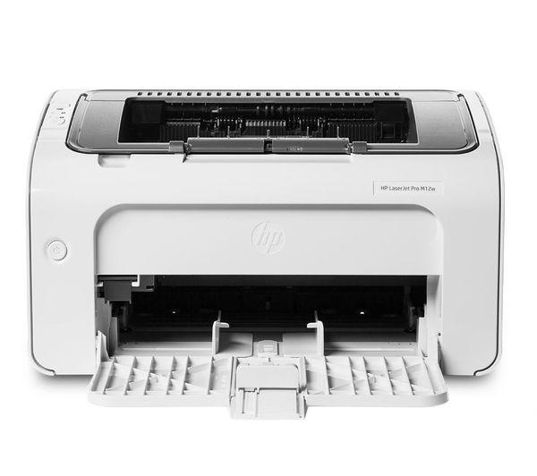 Buy Hp Laserjet Pro M12w Monochrome Wireless Laser Printer