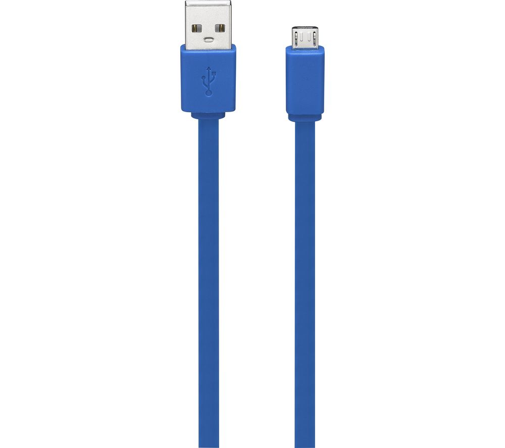 Compare prices for Goji G1MFLBL17 USB A to Micro USB B Cable 1m