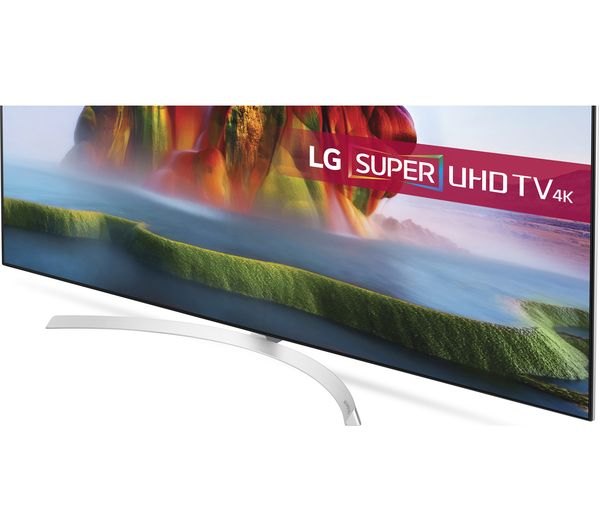 Lg 55sj850v 55 Smart 4k Ultra Hd Hdr Led Tv Sj6 2 1 Wireless Sound