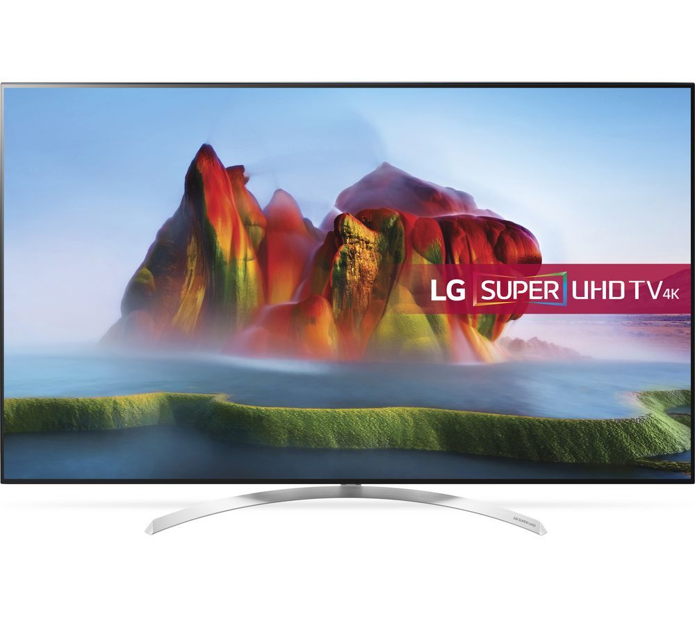 "LG 55SJ850V 55"" Smart 4K Ultra HD HDR LED TV"