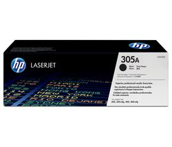 HP 305A Original LaserJet Black Toner Cartridge
