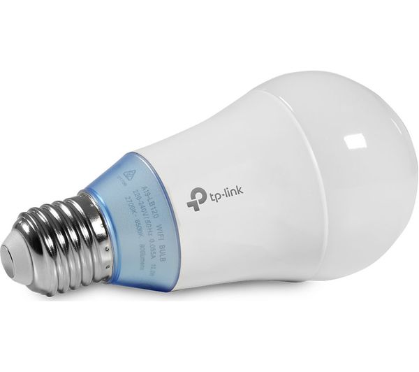 TP-LINK LB120 Smart WiFi LED Bulb - E27 with B22 Adapter