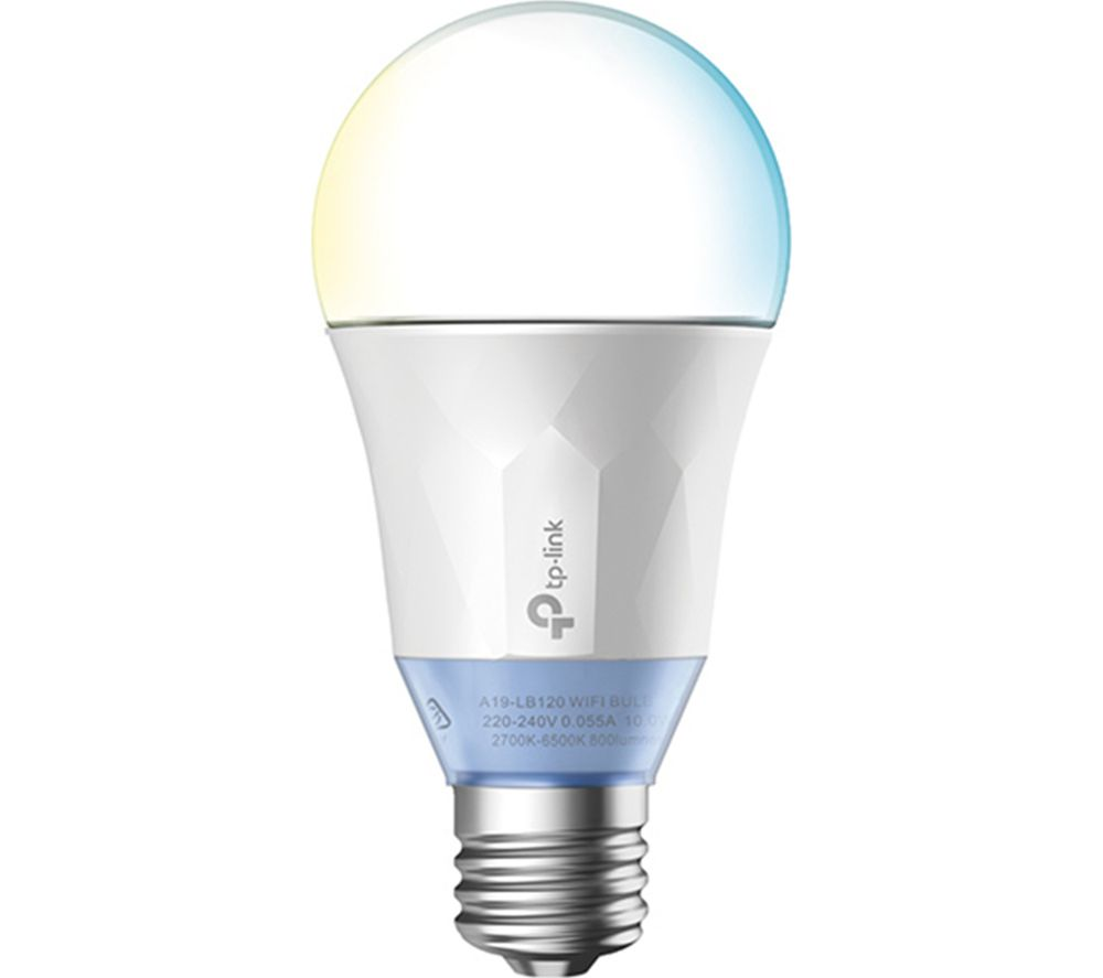 Tp Link Lb120 Smart Wifi Led Bulb E27 With B22 Adapter