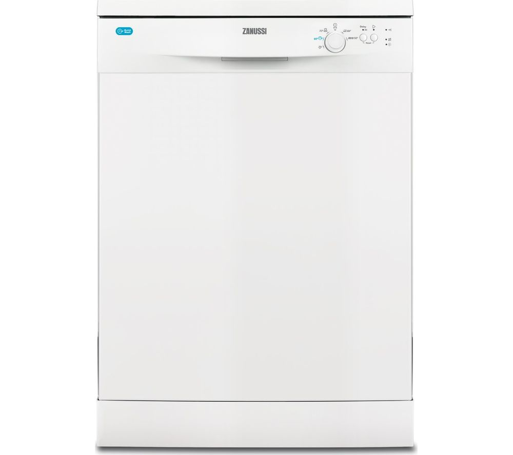 Compare retail prices of Zanussi ZDF22002WA Full-size Dishwasher to get the best deal online