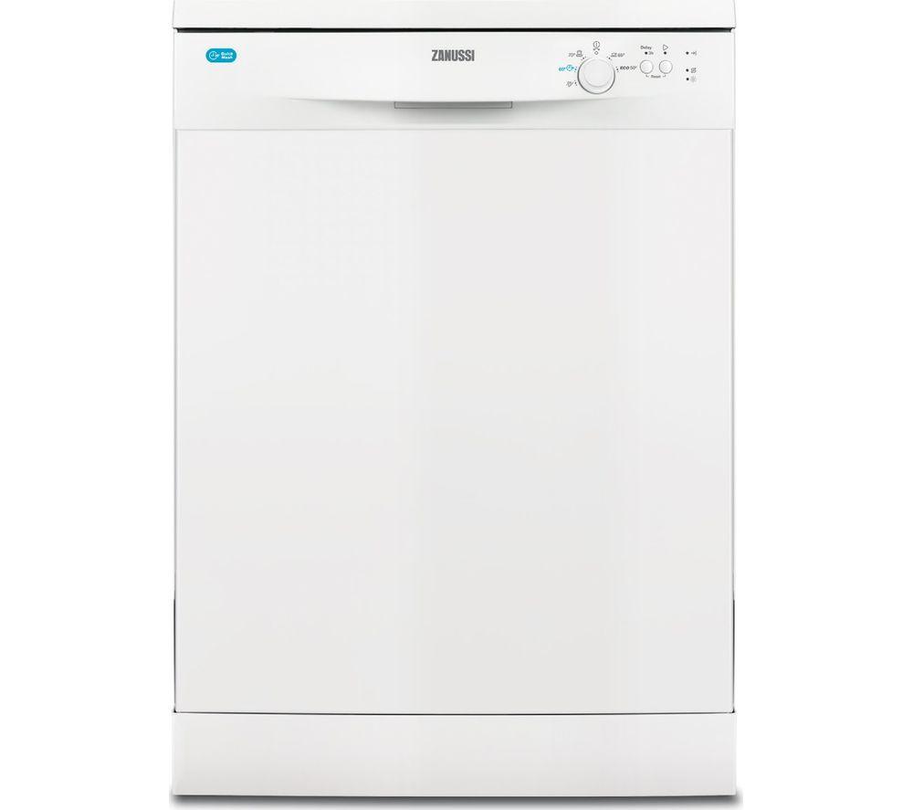 Compare prices for Zanussi ZDF22002WA Full-size Dishwasher