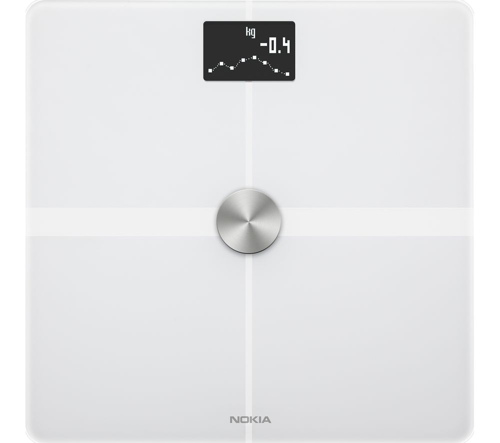 NOKIA Body+ WBS05 Body Composition Smart Scale - White
