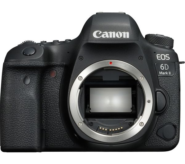 Image of CANON EOS 6D Mark II DSLR Camera - Black, Body Only