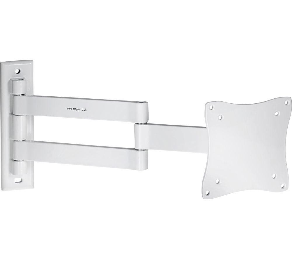 PROPER Heavy Duty Swing Arm Tilt & Swivel TV Bracket
