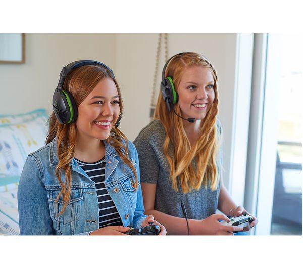 TURTLE BEACH Stealth 600 Wireless Gaming Headset - Black & Green