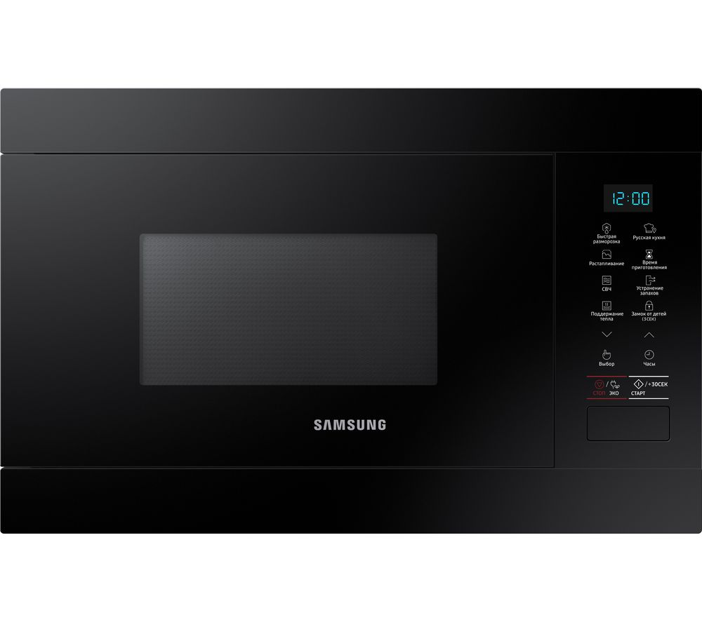 SAMSUNG MS22M8054AK/EU Built-in Solo Microwave - Black