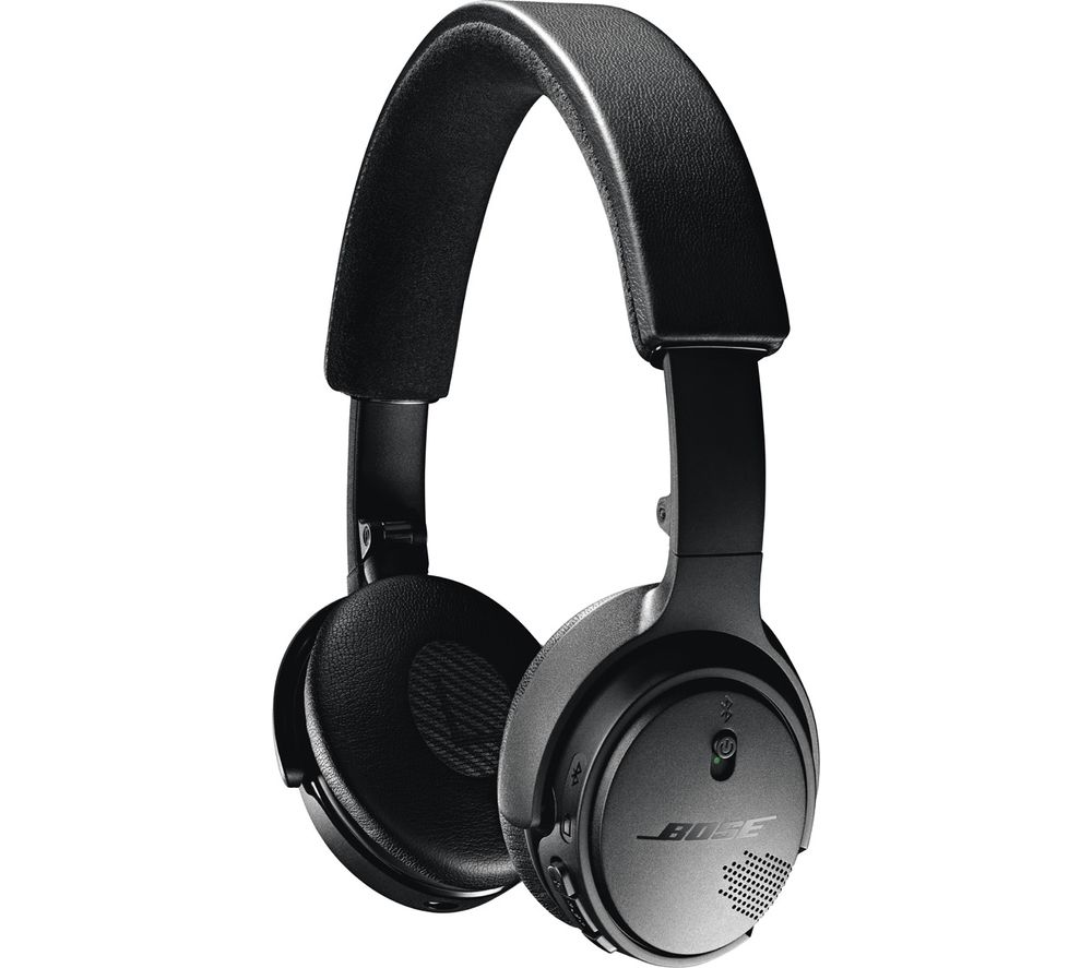 buy bose wireless bluetooth headphones black free delivery currys. Black Bedroom Furniture Sets. Home Design Ideas