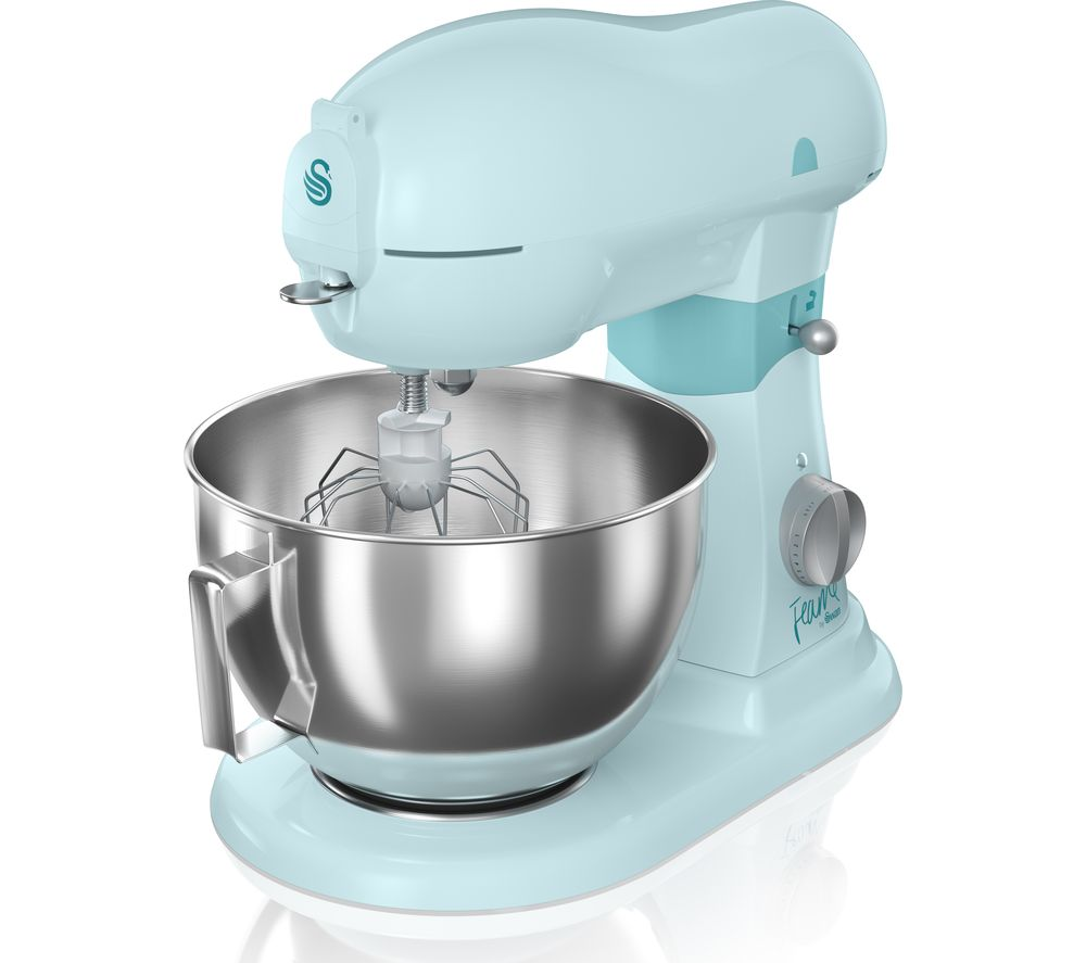 Compare prices for Swan Fearne SP32010PKN Stand Mixer Peacock