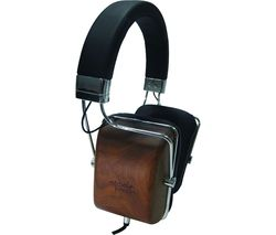 M&J MJ1 Headphones - Black Wood